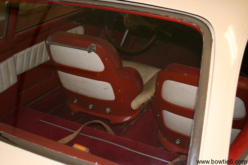 Hudson Italia Prototype Interior