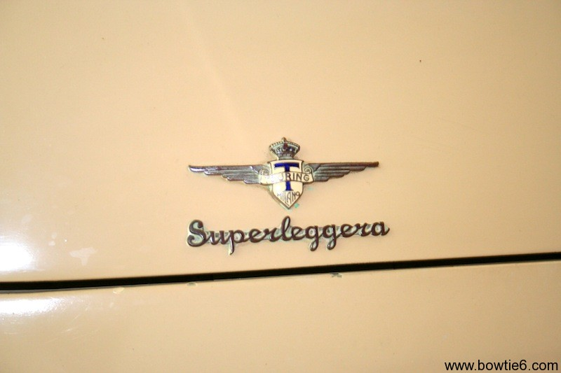 Hudson Italia Superleggera Hood Emblem